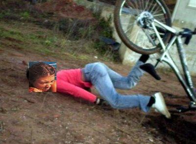 caida bici